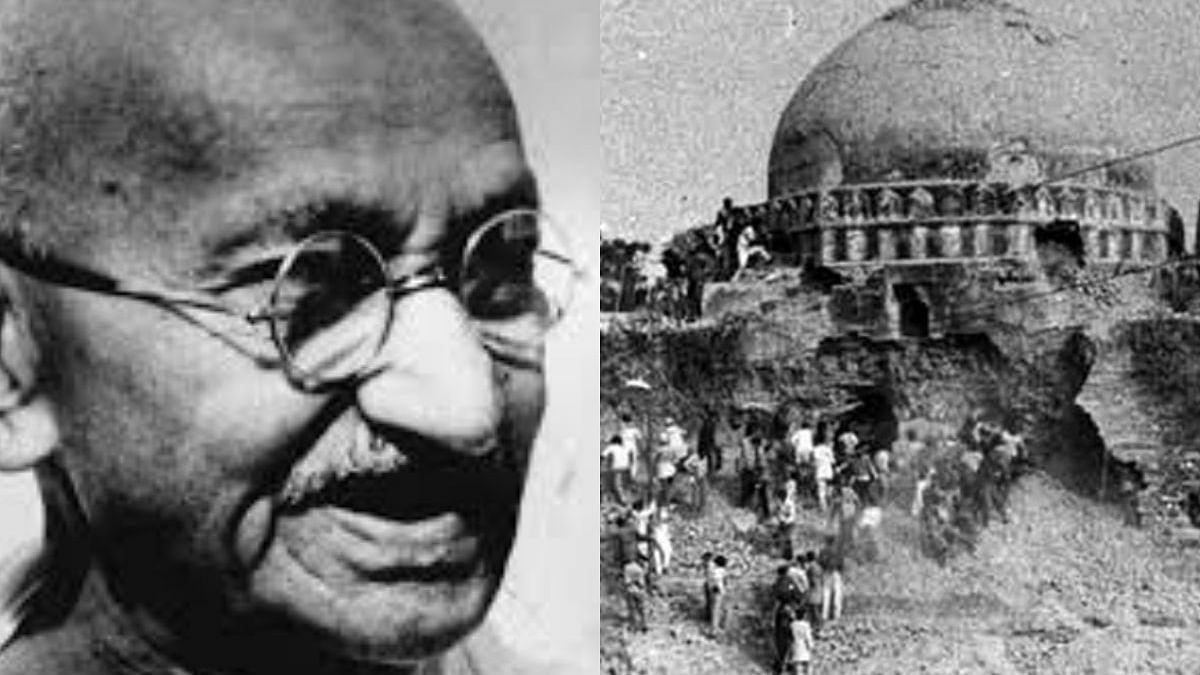 Remembering Mahatma Gandhi and wondering what he would've said about verdict on Babri Masjid demolition case