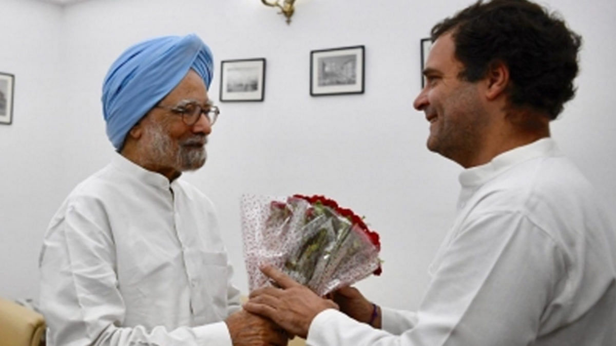 India feels absence of a PM with depth of Manmohan Singh, says Rahul Gandhi