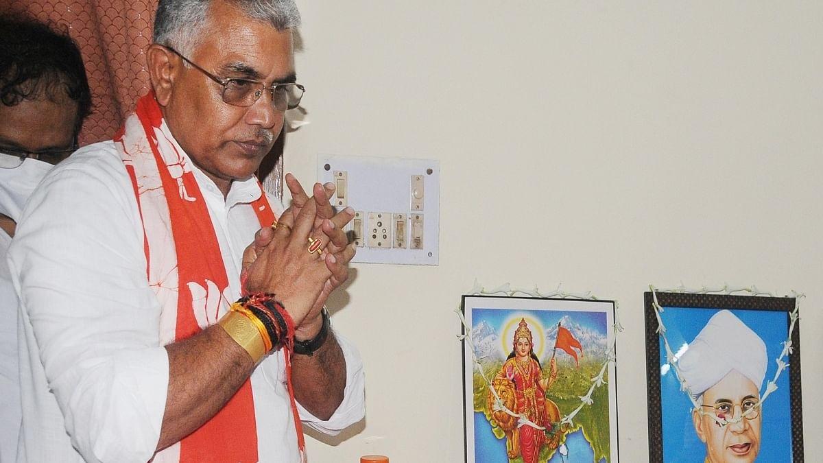 WB BJP president Dilip Ghosh (Photo Courtesy: IANS)