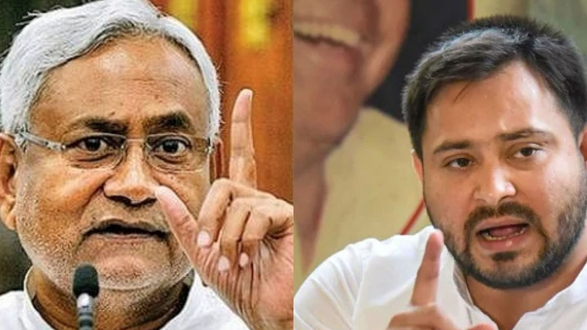 "Nitish stoops down to ""8-9 kids"" jibe; Tejashwi retorts with ""mentally tired'' barb"