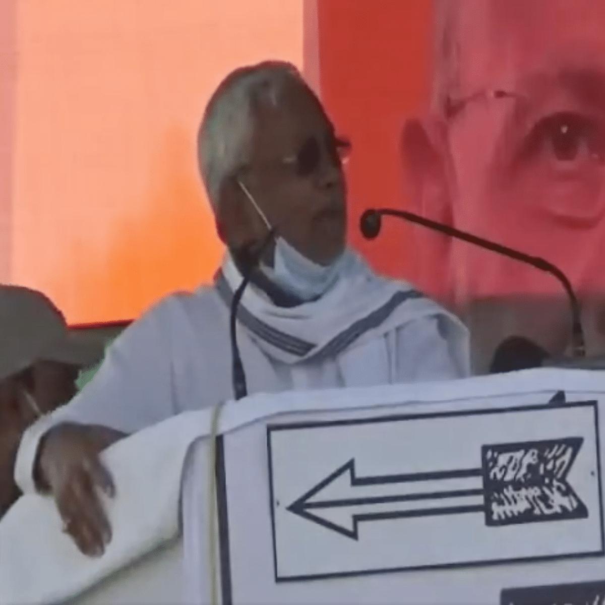 WATCH: 'Nitish Kumar is a thief, has eaten MNREGA money,' slogans raised at Bihar CM's rally