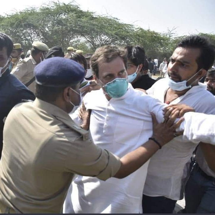 NHRC issues notice to UP Chief Secretary, DGP over manhandling of Rahul Gandhi by police