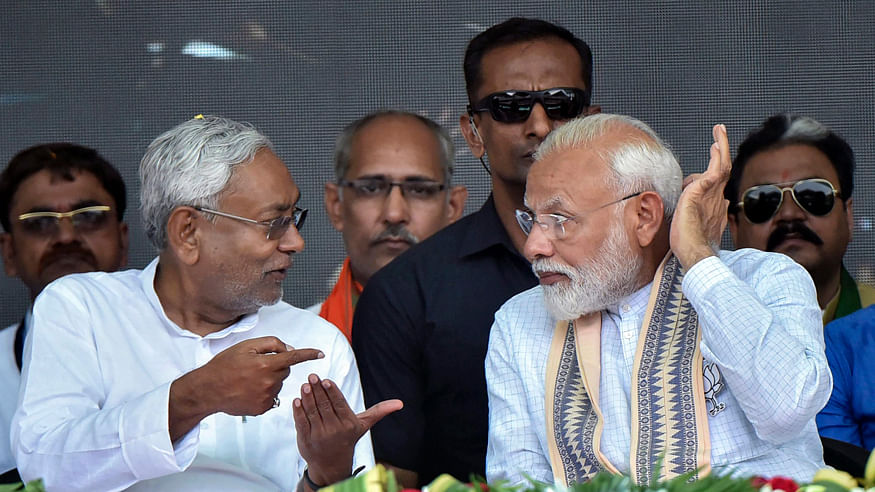 Bihar Polls: Modi-Nitish rivalry on display in first joint rally, gulf likely to widen in coming times