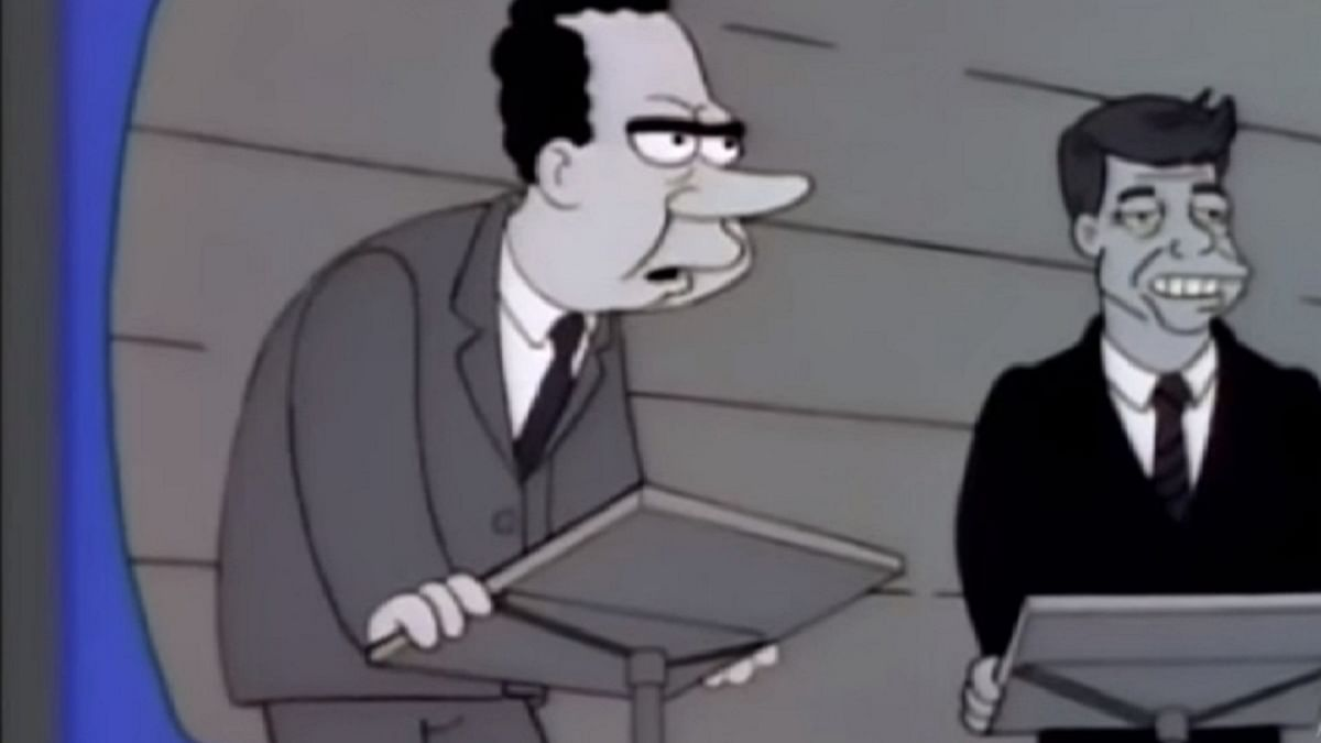 JFK vs Nixon, the first televised presidential debate