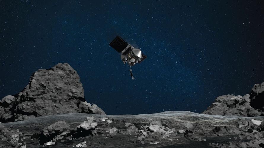 NASA spacecraft makes 1st touchdown on asteroid Bennu