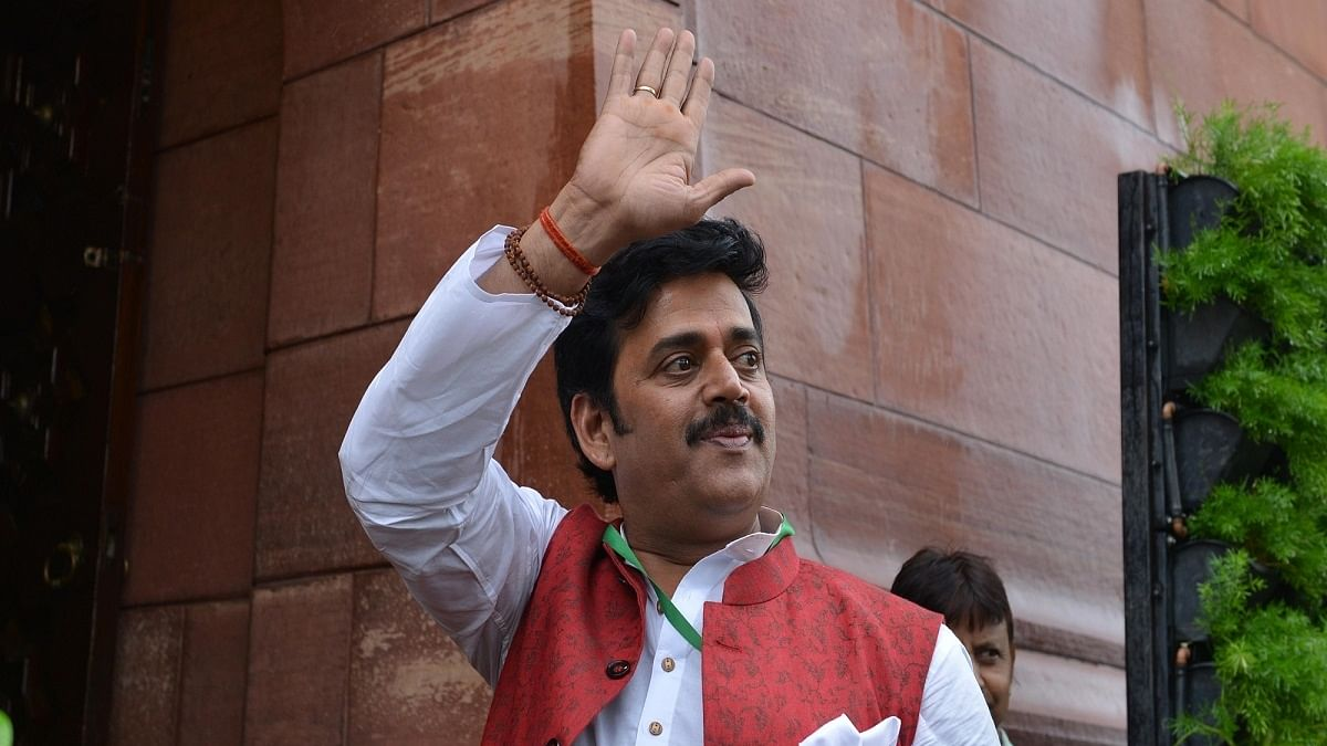 Actor-turned-politician Ravi Kishan (Photo Courtesy: IANS)
