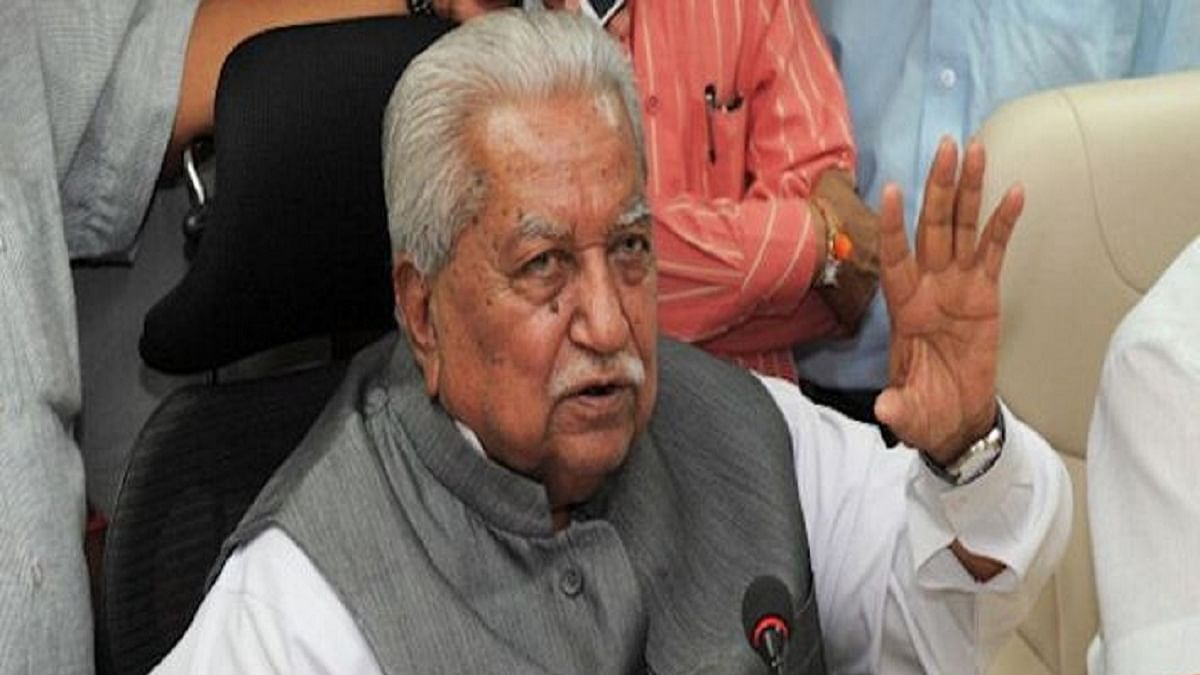 Keshubhai Patel: A man with a very good common sense view of things