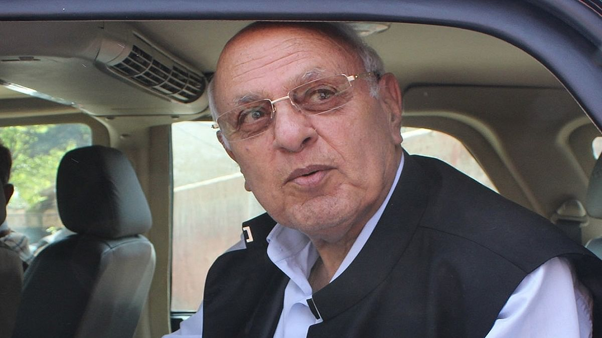 PAGD condemns curbs on Farooq Abdullah's movements