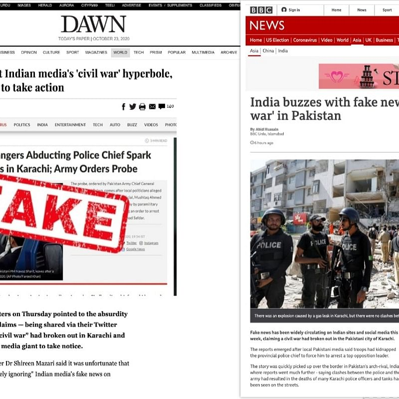 Civil war in Pakistan? Indian media trolled for spreading fake news