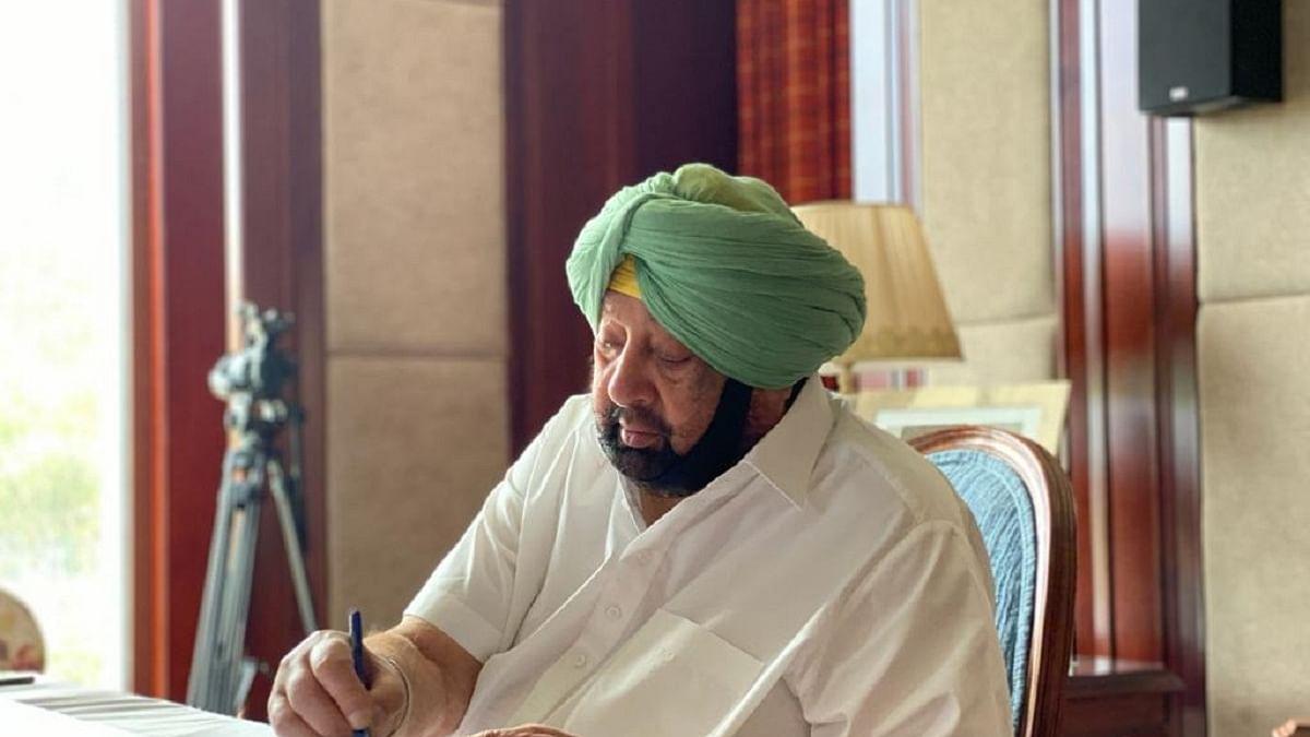 Punjab CM Amarinder Singh (Photo Courtesy: IANS)