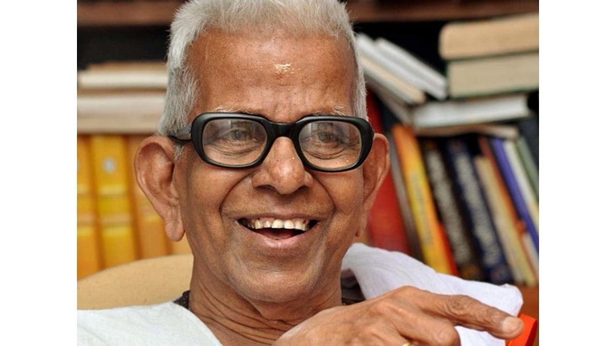 Noted Malayalam poet Akkitham passes away at 94