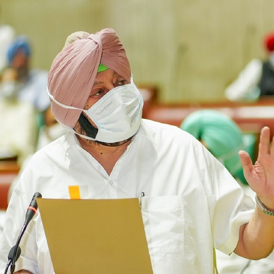 Punjab Chief Minister Amarinder Singh (Photo Courtesy: IANS)