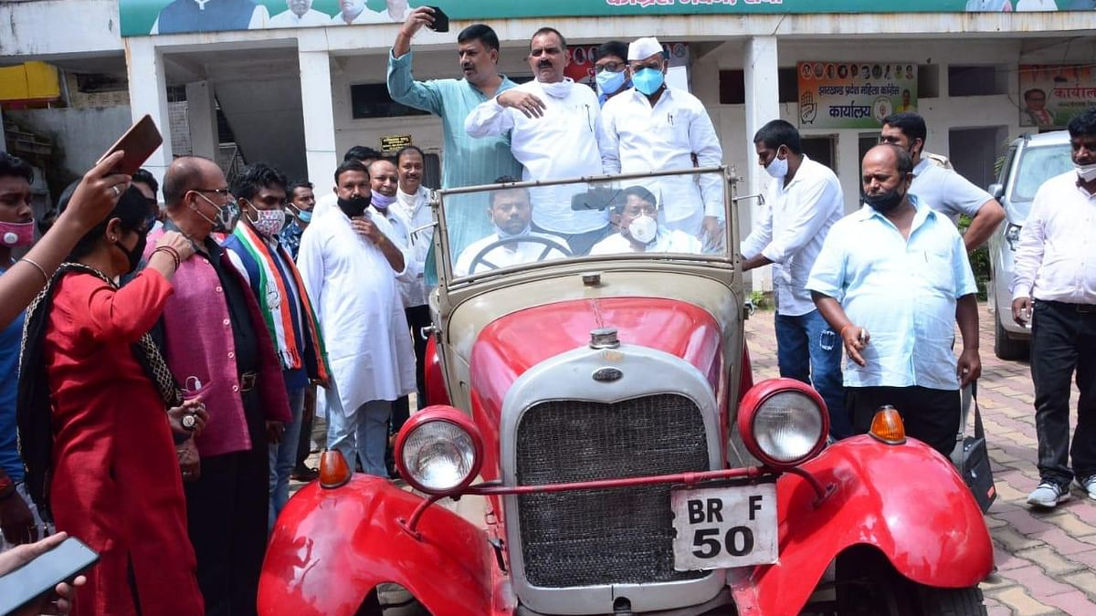 Ranchi family preserves the room and the car Gandhi Ji used for a day