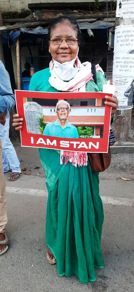 Catholics protest in Ranchi against the arrest of Fr Stan swamy