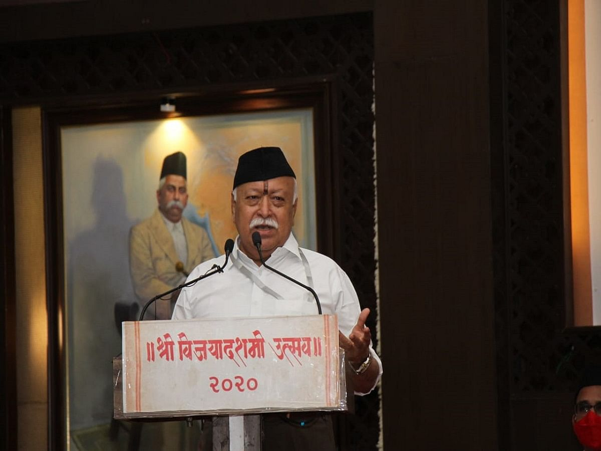 RSS chief Mohan Bhagwat has declared war against Indian ethos