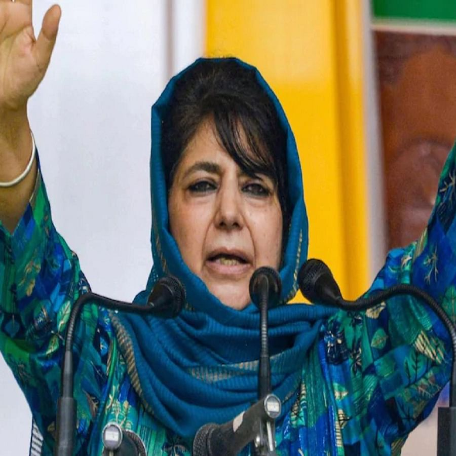 People's Democratic Party president Mehbooba Mufti  (Photo Courtesy: PTI)
