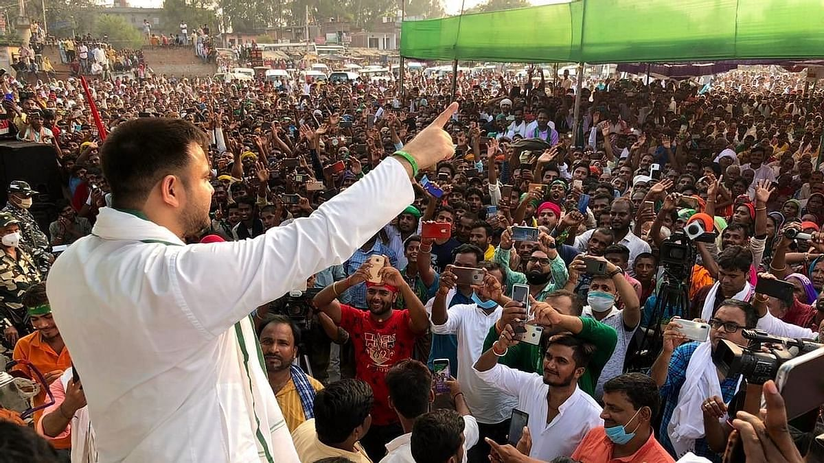 Bihar polls: 10 lakh jobs promise draws crowds to RJD