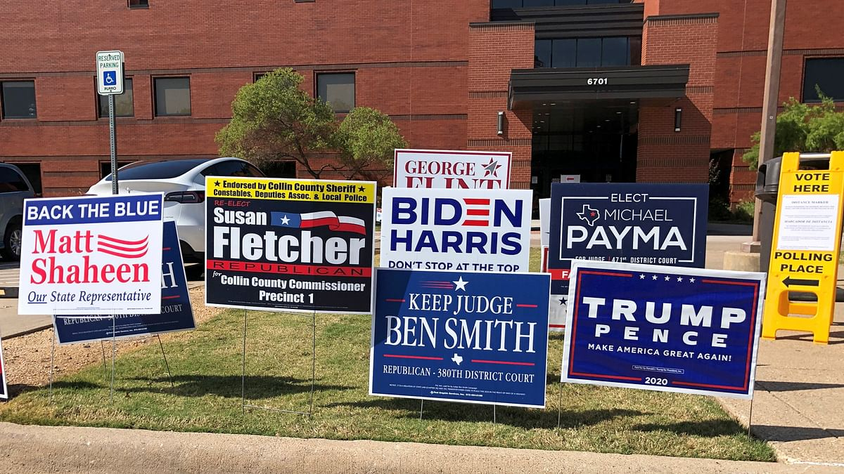 US election 2020: Record turnout in early voting despite COVID-19