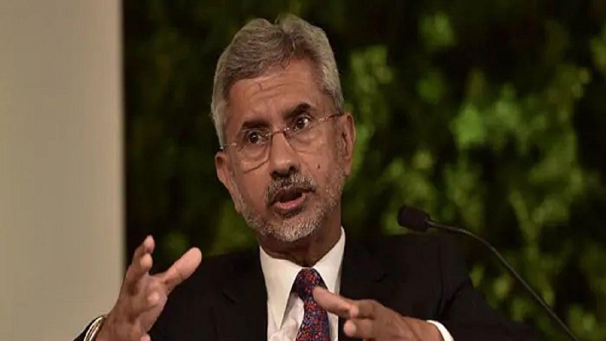 External Affairs Minister Subrahmanyam Jaishankar