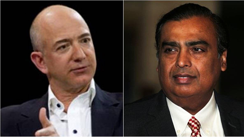 Jeff Bezos vs Mukesh Ambani: Battle royale for India's retail crown