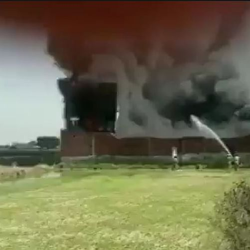 LIVE News Updates: A fire breaks out in a chemical factory in Meerut, UP