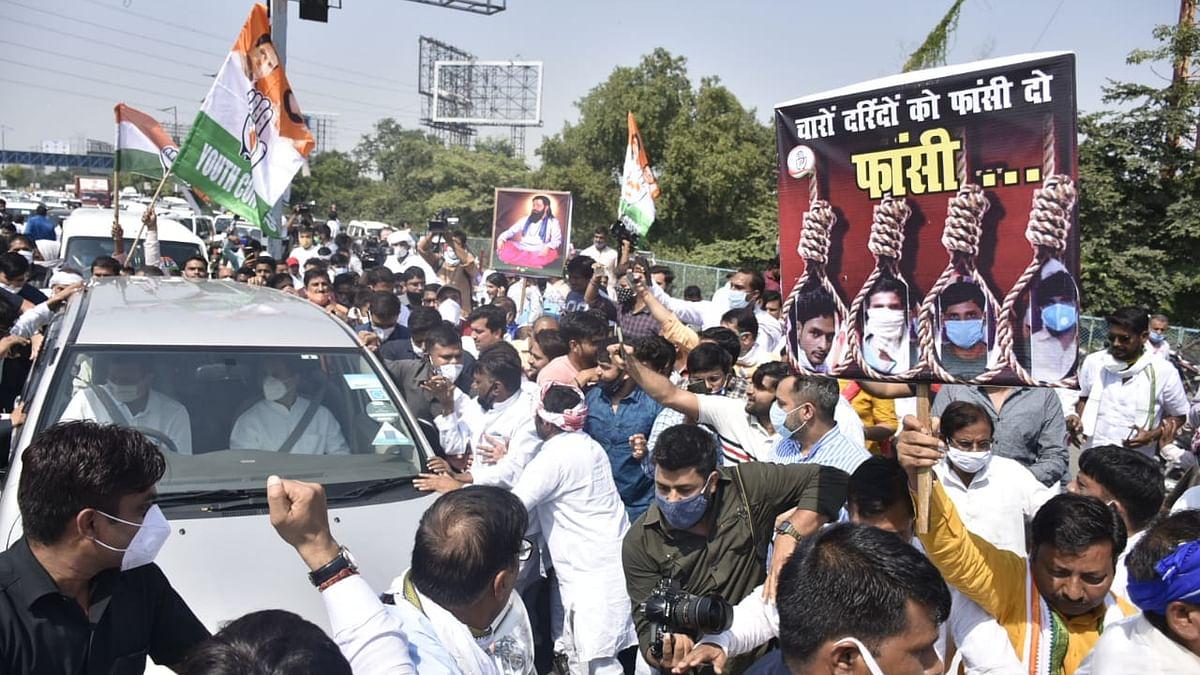 LIVE News Updates: Rahul and Priyanka reach Delhi-UP border on way to Hathras