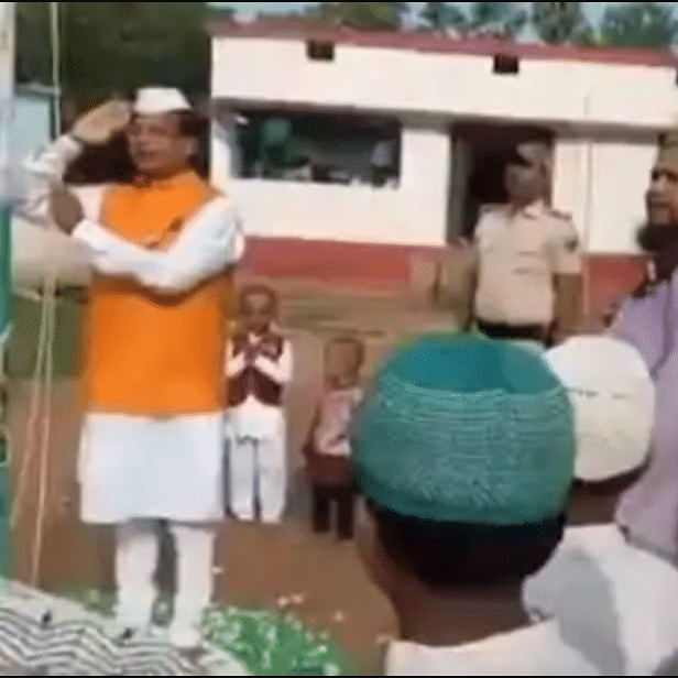 WATCH: New Bihar Education Minister's incorrect rendering of national anthem