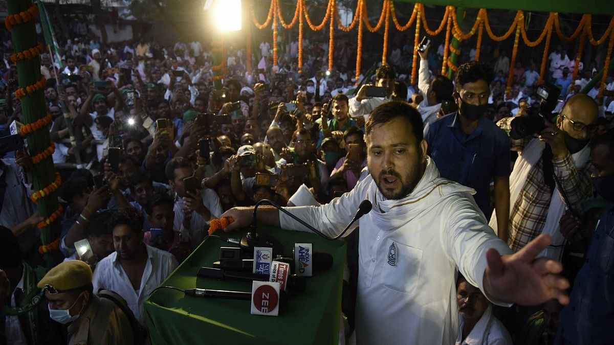 Tejashwi Yadav: political 'novice' who gave veterans a run for their money in Bihar elections