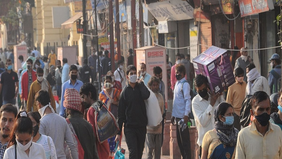 India shows jump of 30% in new COVID cases since Diwali
