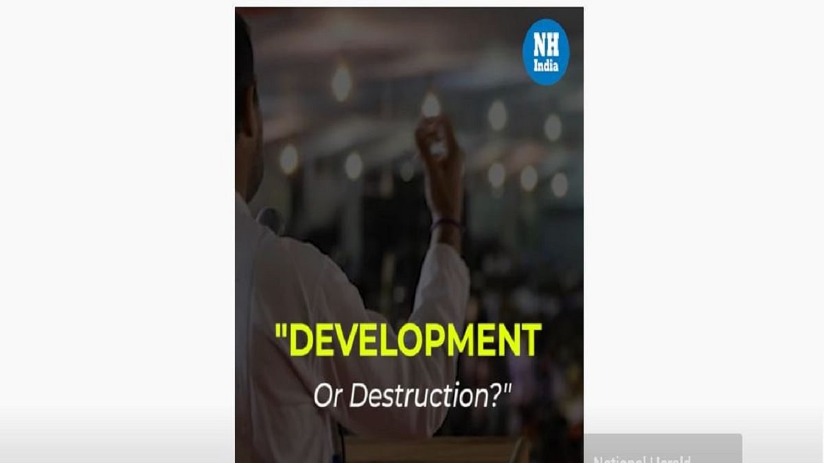 """Development or Destruction?"" Rahul Gandhi attacks Centre over unemployment, inflation"