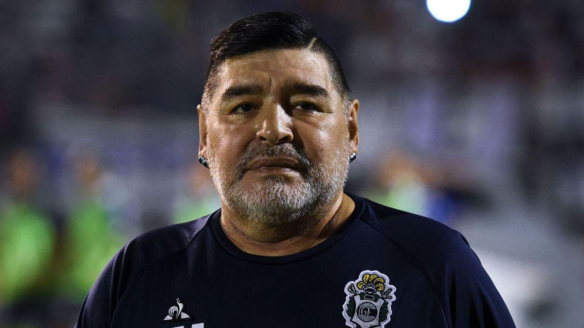 Argentina soccer superstar Diego Maradona passes away