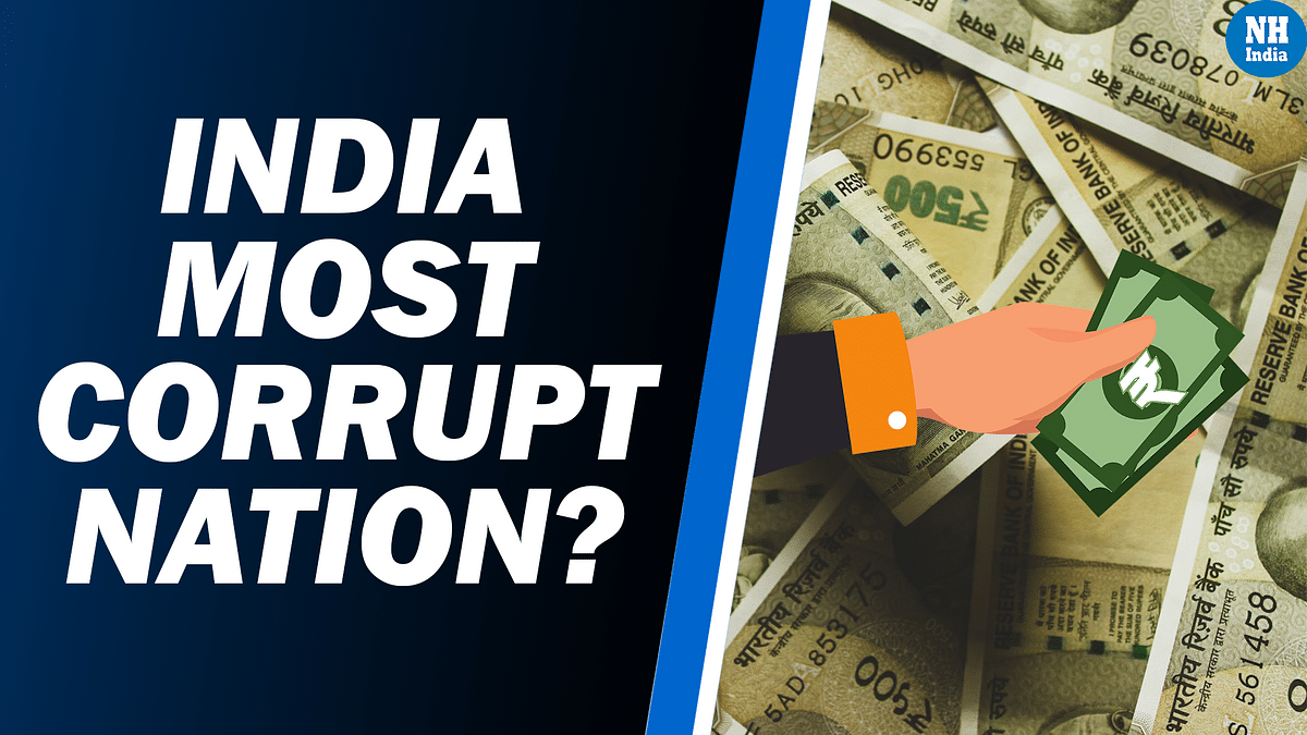 At 39%, India has the highest bribery rate in Asia