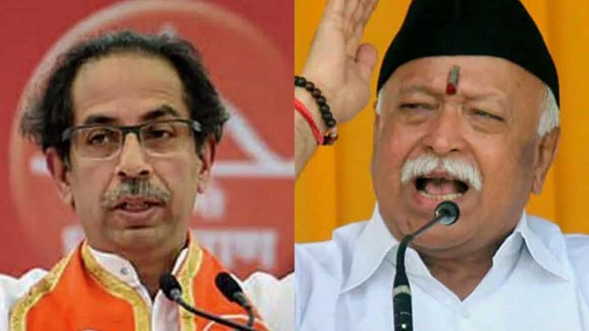 By reminding RSS the country does not belong to one party, Thackeray rubs it in