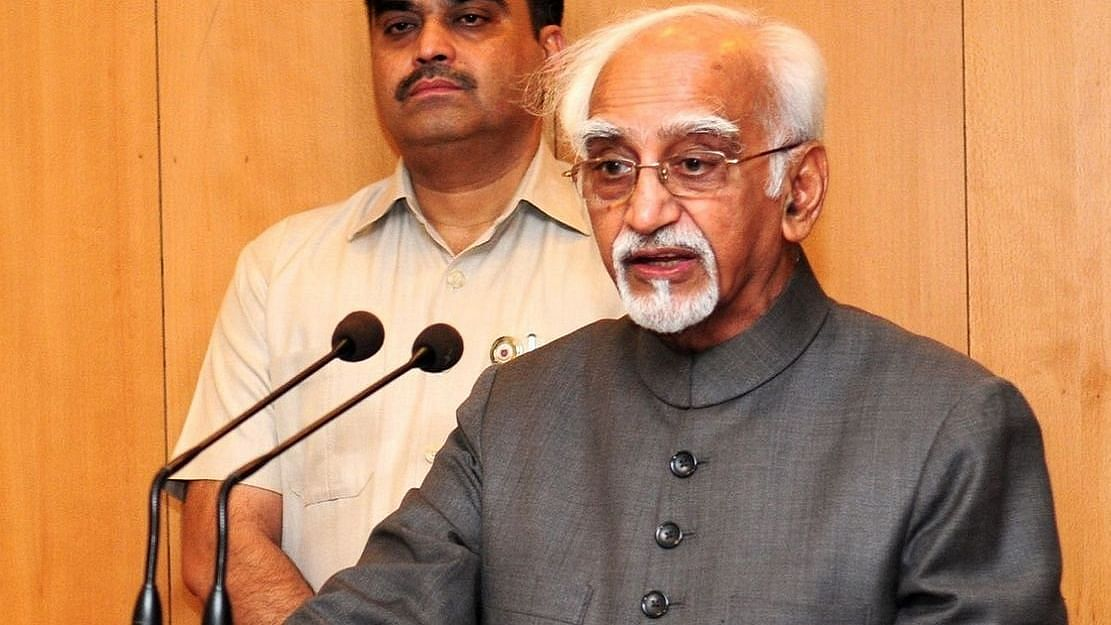 Before COVID, society became victim of two pandemics -- religiosity, strident nationalism, says Hamid Ansari