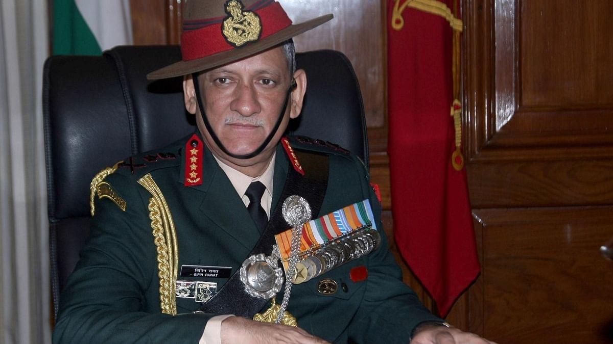 General Bipin Rawat (Photo Courtesy: IANS)