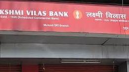 Lakshmi Vilas Bank under moratorium; maximum withdrawal Rs 25K