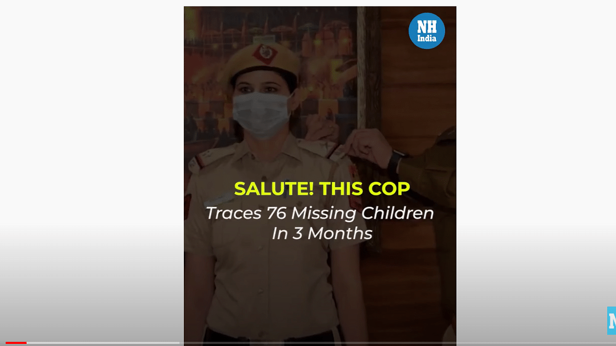 Salute! This Cop Traces 76 Missing Children In 3 Months