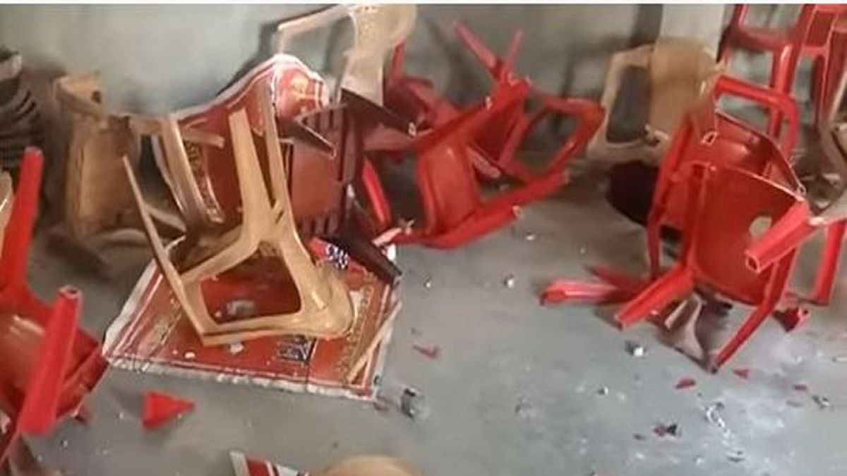 On Constitution Day, 'BJP goons' destroy CPI's Agartala office, alleges party