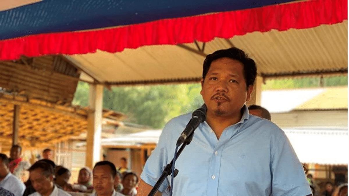MeghalayaChief Minister Conrad K Sangma