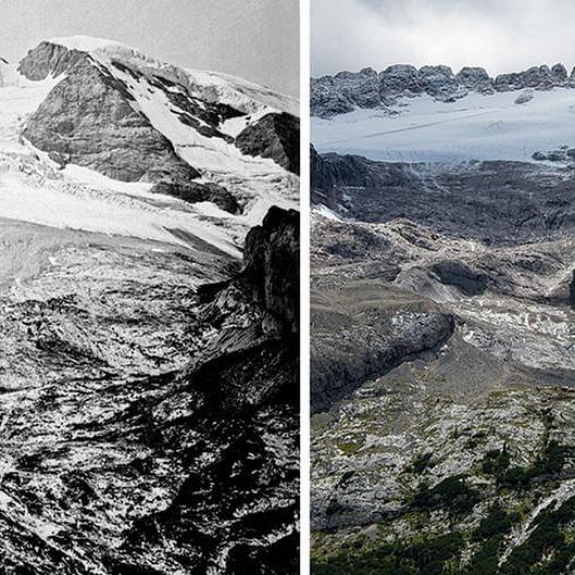 Vanishing glaciers (Representative image)