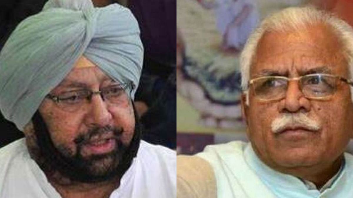 Punjab, Haryana CMs in Twitter spat over farmers marching to Delhi to protest against new farm laws