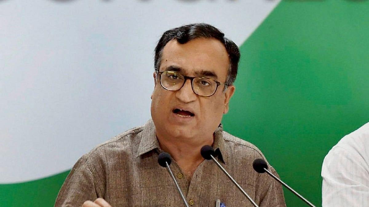 Congress leader Ajay Maken (File photo)