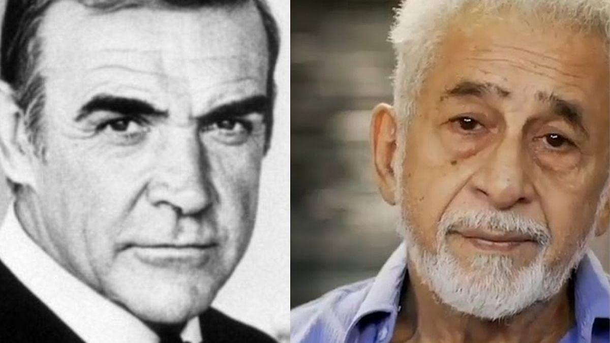 Bonding with Bond: Naseeruddin Shah recalls his experience of working with Sean Connery in his last film