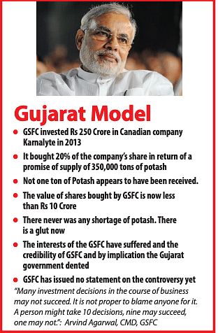 Gujarat rope trick: Who decided in 2013 to invest Rs 250 Crore in a dubious company in Canada ?