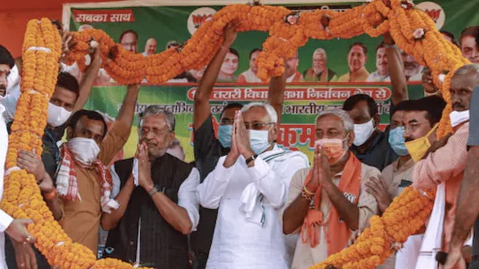 Nitish Kumar unanimously elected as leader of NDA in Bihar; to return as CM