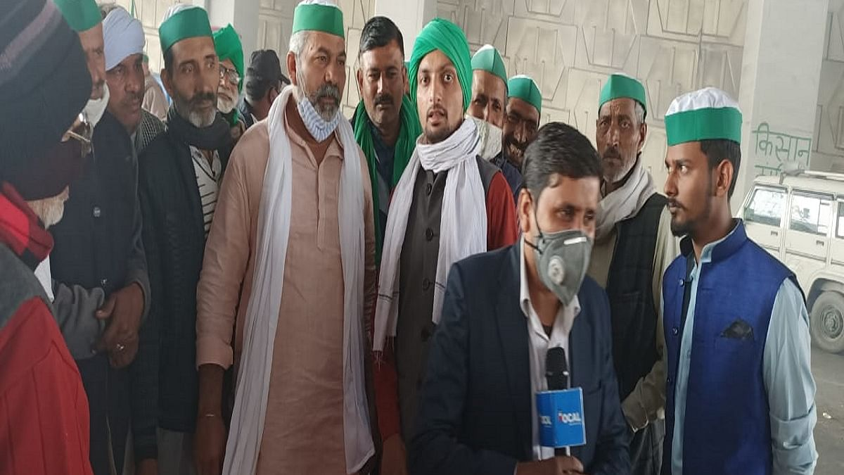 'We are farmers, not terrorists; Why should we wait for Dec 3 for talks?': Farmers at Ghaziabad-Delhi border