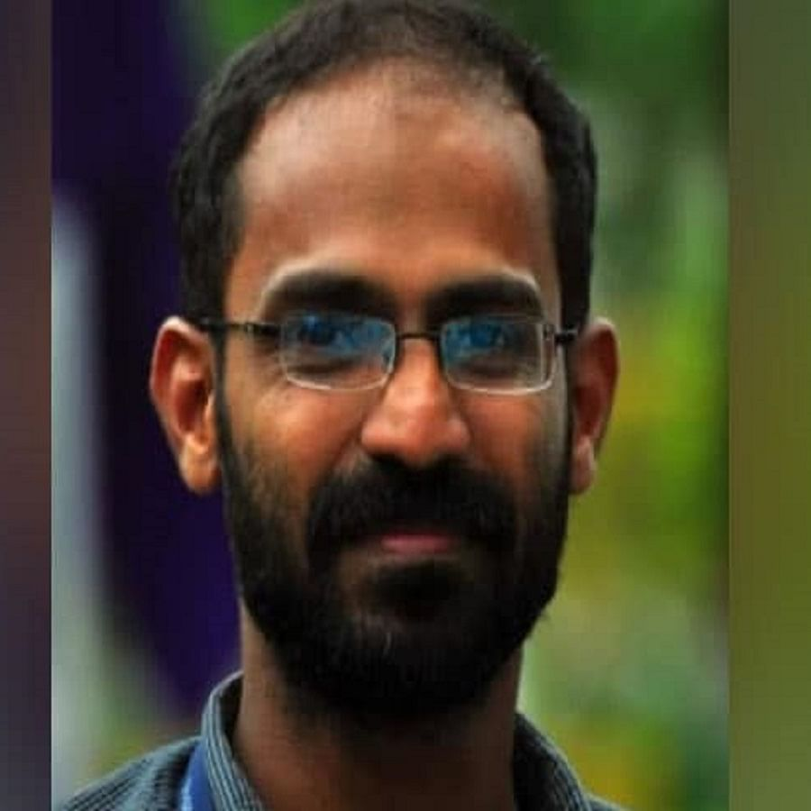 Kerala journalist Siddique Kappan (Photo Courtesy: Social Media)