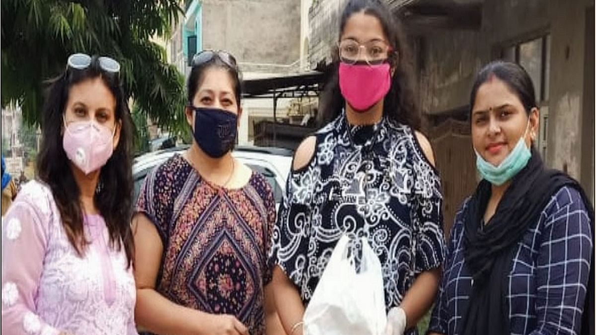 Free meals to COVID families in Delhi NCR by volunteers