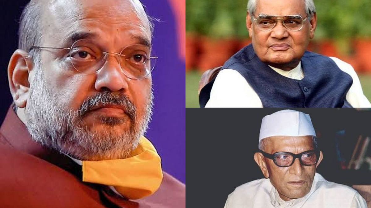 Did Amit Shah write a protest note to PM Vajpayee on nuclear tests in 1998?