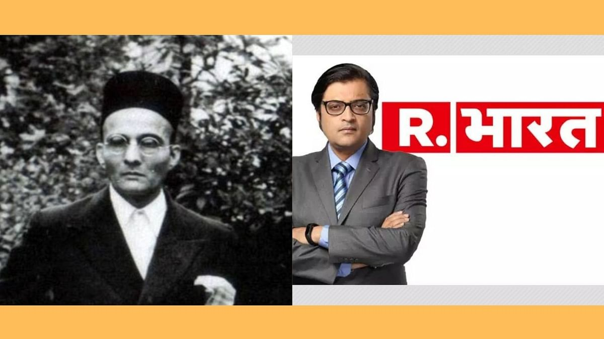 'Arnab Goswami beat Savarkar': Anchor ridiculed after revelation that channel apologised to UK body 280 times